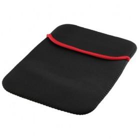 10.2 inch iPad neoprene sleeve hoes Zwart ON1118