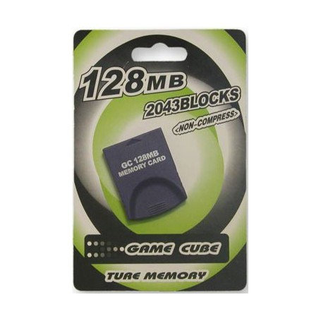unbranded, 128 MB Memory for Nintendo Wii and Gamecube 4001, Nintendo Wii, 4001