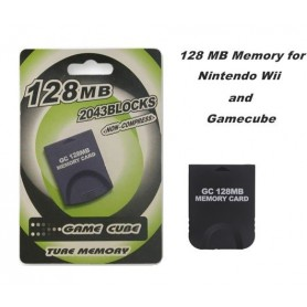 NedRo - 128 MB Memory for Nintendo Wii and Gamecube 4001 - Nintendo Wii - 4001