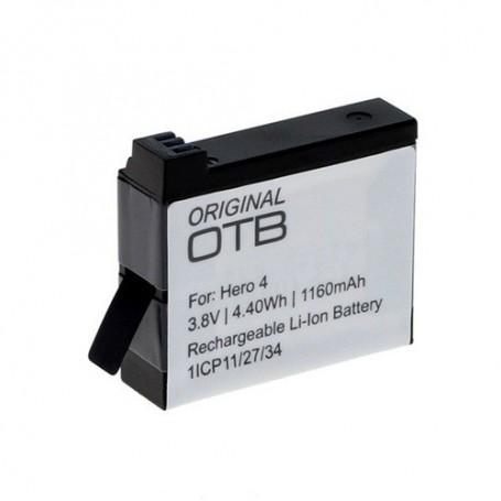 OTB, Battery for GoPro Hero4 Li-Ion 1160mAh, GoPro photo-video batteries, ON1161