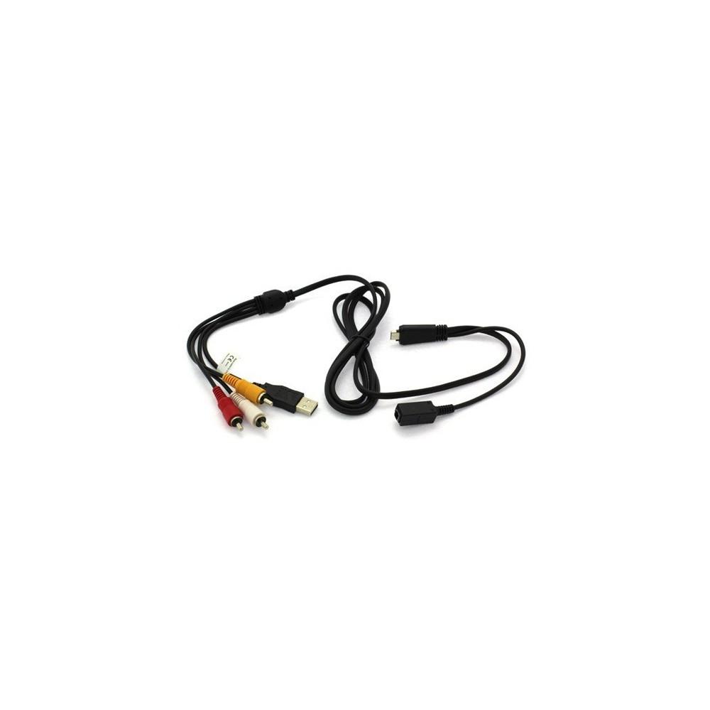 NedRo - Cablu USB Audio Video pentru Sony Cyber-Shot VMC-MD3 ON1185 - Cabluri și adaptoare foto-video - ON1185 www.NedRo.ro