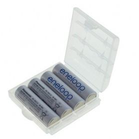 Panasonic - AA HR6 R6 Panasonic Eneloop Oplaadbare Batterijen - AA formaat - NK030-4x www.NedRo.nl
