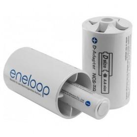 NedRo, Adaptor Panasonic eneloop R20 D de la R6 AA, Accesorii pentru baterii, BS143-CB, EtronixCenter.com