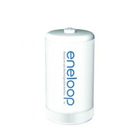 Panasonic - Panasonic Eneloop Adapter AA R6 to D Mono R20 - Battery accessories - BS143-CB www.NedRo.us