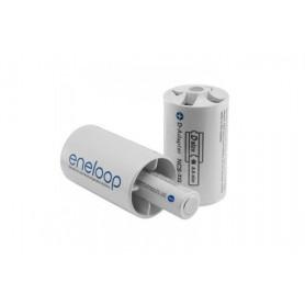 Panasonic - 2x Panasonic Eneloop Adapter AA R6 naar Baby C ON2009 - Overige batterijen - ON2009-C www.NedRo.nl