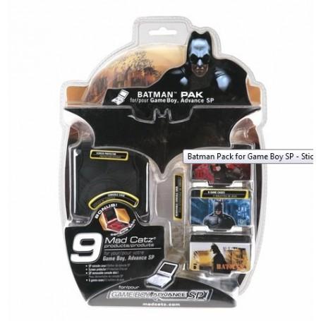 NedRo, Batman Pack Voor Nintendo GBA SP YGN403, Nintendo GBA SP, YGN403, EtronixCenter.com