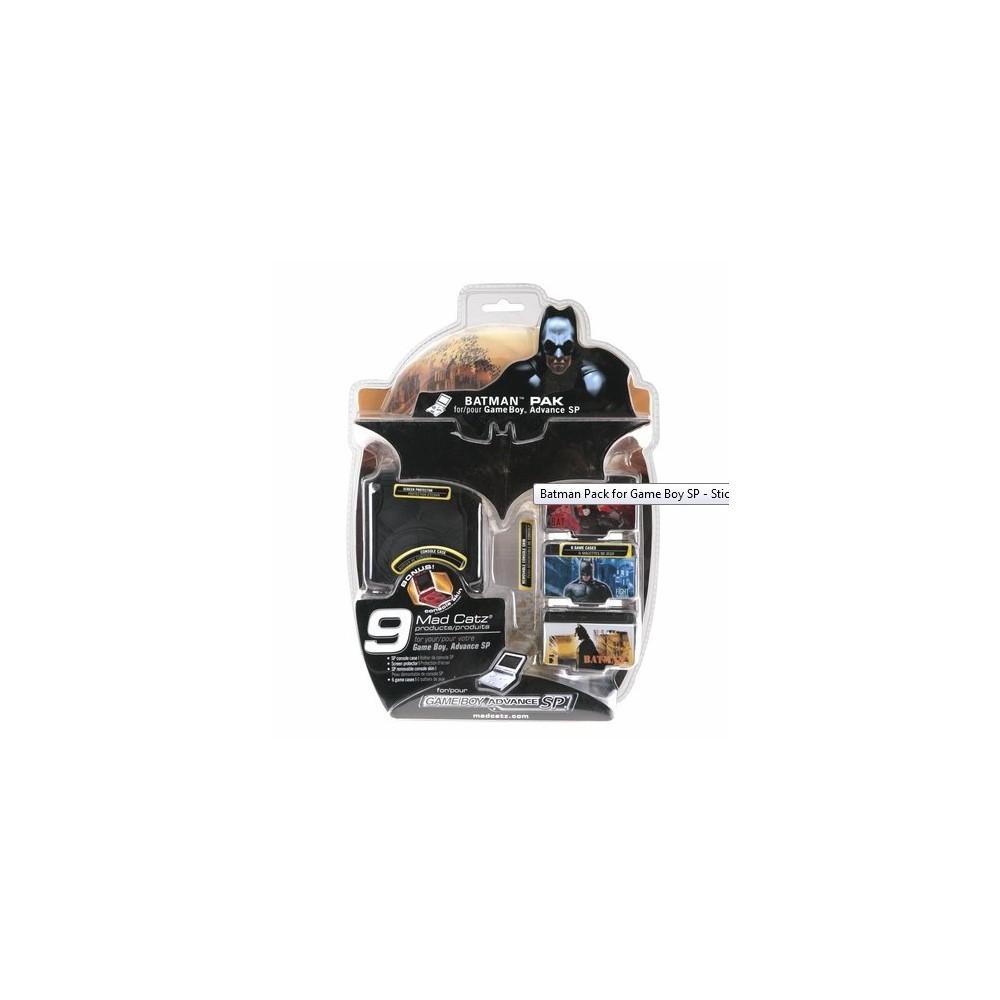 NedRo - Batman Pack Voor Nintendo GBA SP YGN403 - Nintendo GBA SP - YGN403 www.NedRo.nl