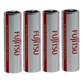 Fujitsu - Fujitsu FDK HR 3U AA Rechargeable Battery 2700mAh - Size AA - ON1309-40x www.NedRo.us