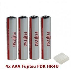 Fujitsu, AAA Fujitsu FDK HR4U Oplaadbare Batterij 1000mAh - 4 Stuks, AAA formaat, ON1310-CB, EtronixCenter.com