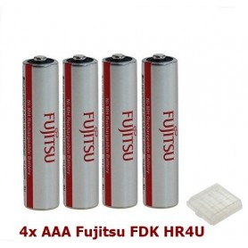 Fujitsu - AAA Fujitsu FDK HR4U Rechargeable Battery 1000mAh - Size AAA - ON1310 www.NedRo.us