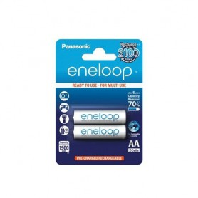 Eneloop - Panasonic eneloop Recharable Battery AA HR6 - Size AA - ON1311 www.NedRo.us