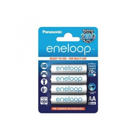 Eneloop, AA HR6 Panasonic Eneloop Recharable Battery, Size AA, NK267-CB