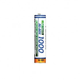 Panasonic - Panasonic 1000mAh AAA Rechargeable Battery NiMH - Size AAA - ON1321 www.NedRo.us