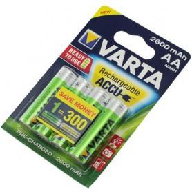 Varta - Varta Rechargeable Battery AA HR6 2600mAh - Format AA - ON1325-CB www.NedRo.ro
