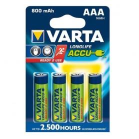 Varta, Varta Oplaadbare Battery AAA HR3 800mAh, AAA formaat, ON1331-CB, EtronixCenter.com
