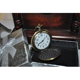 NedRo, Ceas de Buzunar stil Antic Miscare Quartz Peste Pescar, Ceas de buzunar Quartz, ZN046, EtronixCenter.com