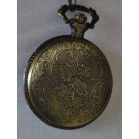 NedRo, Fish Fishing Vintage Bronze Quartz Pocket Watch, Quartz, ZN046, EtronixCenter.com