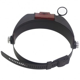 NedRo - 3 Lens 2 LED Headband Magnifier Magnifying Glasses - Magnifiers microscopes - AL052 www.NedRo.us