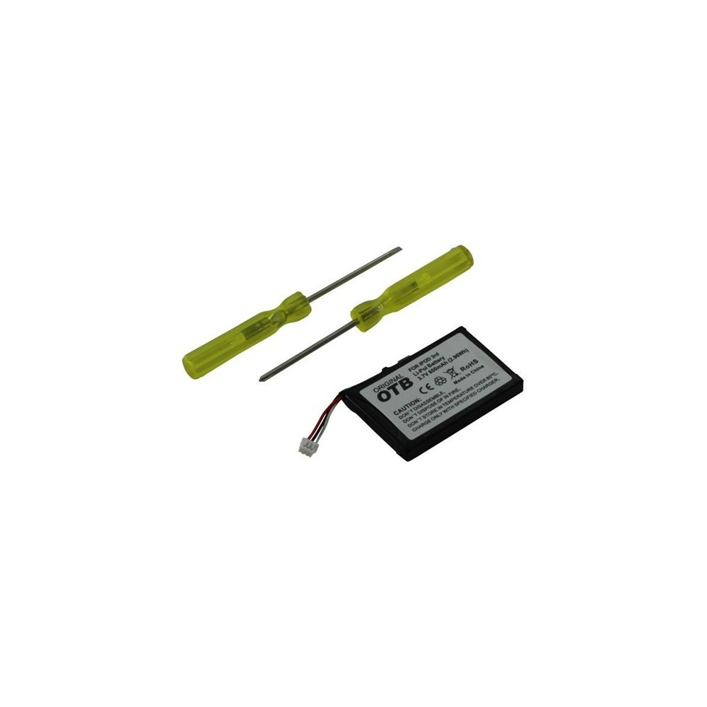 OTB - Batterij Voor iPod III Li-Polymer 800mAh ON1374 - iPod accessoires - ON1374 www.NedRo.nl