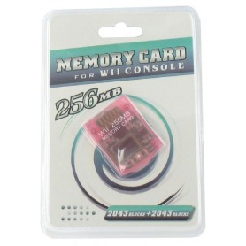 NedRo, 256 MB Memory Card for Nintendo Wii YGF007, Nintendo Wii, YGF007