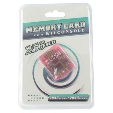 256 MB Memory Card voor de Nintendo Wii YGF007