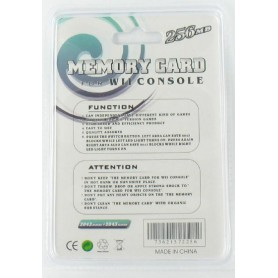 NedRo, 256 MB Memory Card voor de Nintendo Wii YGF007, Nintendo Wii, YGF007, EtronixCenter.com