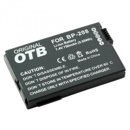 OTB, Batterij voor Canon BP-208 Li-Ion ON1391, Canon foto-video batterijen, ON1391, EtronixCenter.com