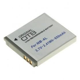 Batterij voor Canon NB-4L 650mAh Li-Ion ON1392