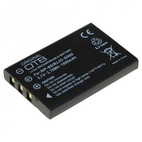 OTB - Batterij voor Fuji NP-60 1000mAh Li-Ion ON1397 - Fujifilm foto-video batterijen - ON1397 www.NedRo.nl