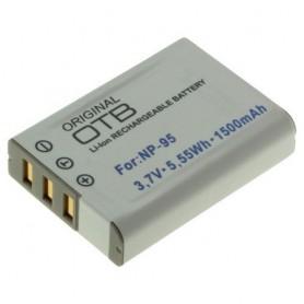 Batterij voor Fuji NP-95 1500mAh Li-Ion