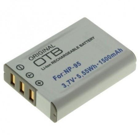 OTB, Batterij voor Fuji NP-95 1500mAh Li-Ion, Fujifilm foto-video batterijen, ON1401, EtronixCenter.com
