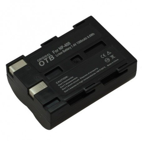 OTB, Battery for Minolta NP-400/Samsung SLB-1674/Pentax D-Li50 ON1410, Konica Minolta photo-video batteries, ON1410