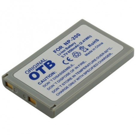 OTB, Battery for Minolta Minolta NP-200 Li-Ion 650mAh, Konica Minolta photo-video batteries, ON1412