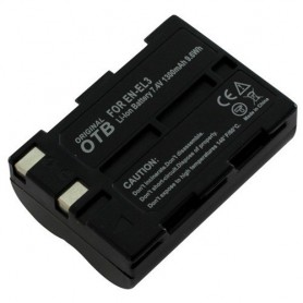 Batterij voor Nikon EN-EL3 Li-Ion 1400mAh