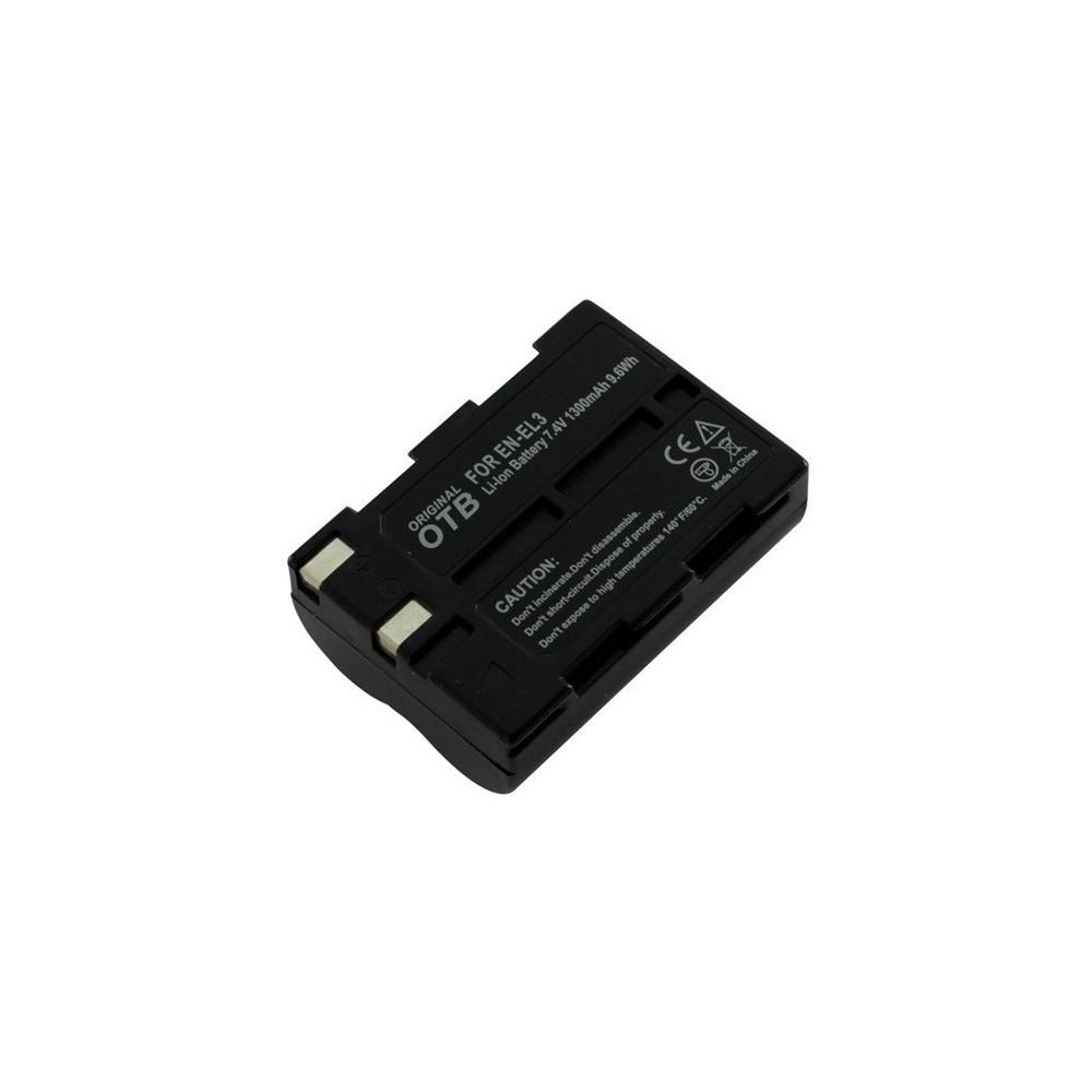 OTB - Batterij voor Nikon EN-EL3 Li-Ion 1400mAh - Nikon foto-video batterijen - ON1414 www.NedRo.nl