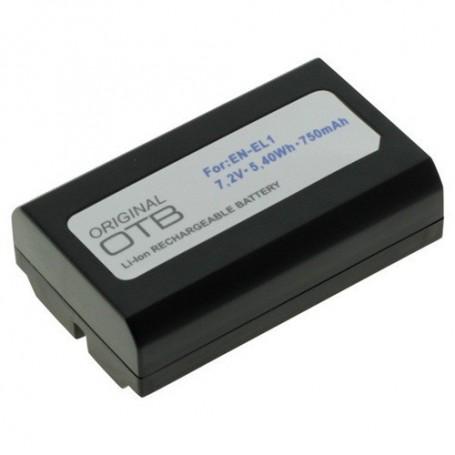 OTB - Batterij voor Nikon EN-EL1 / Konica Minolta NP-800 750mAh - Nikon foto-video batterijen - ON1418 www.NedRo.nl