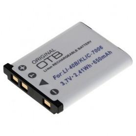 Batterij voor Olympus LI-40B/Nikon EN-EL10/Fuji NP-45