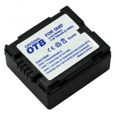 OTB, Battery for Panasonic CGA-DU7 Li-Ion ON1424, Olympus photo-video batteries, ON1424