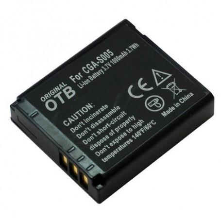 OTB - Battery for Panasonic CGA-S005/Ricoh DB-60/Fuji NP-70 ON1430 - Panasonic photo-video batteries - ON1430 www.NedRo.us
