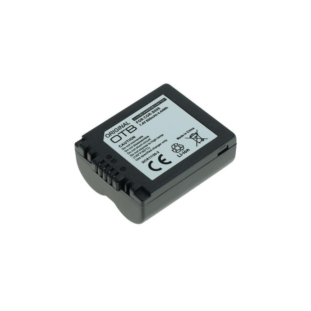 Batterij voor Panasonic CGR-S006 600mAh Li-Ion ON1431