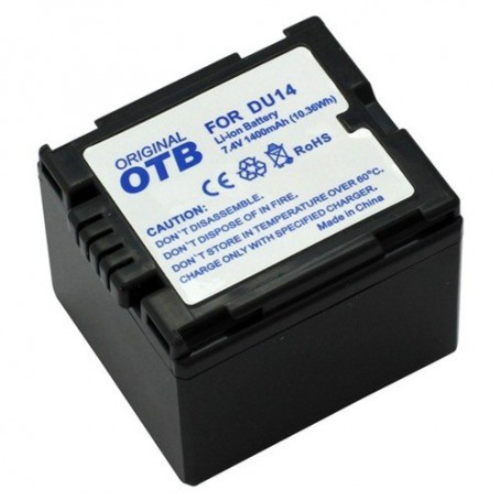 OTB - Battery for Panasonic CGA-DU14 Li-Ion ON1432 - Panasonic photo-video batteries - ON1432