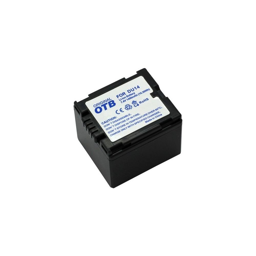 Batterij voor Panasonic CGA-DU14 Li-Ion ON1432