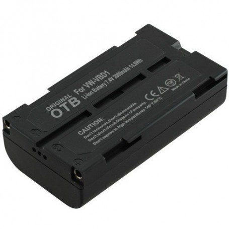 OTB - Batterij voor Panasonic VW-VBD1 Li-Ion ON1434 - Panasonic foto-video batterijen - ON1434 www.NedRo.nl
