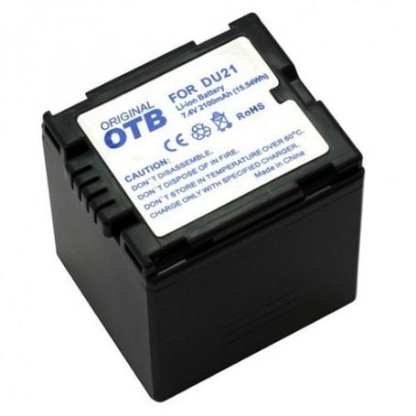 OTB - Batterij voor Panasonic CGA-DU21 Li-Ion ON1435 - Panasonic foto-video batterijen - ON1435 www.NedRo.nl