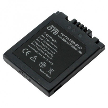 OTB, Batterij voor Panasonic DMW-BCA7 Li-Ion ON1437, Panasonic foto-video batterijen, ON1437, EtronixCenter.com
