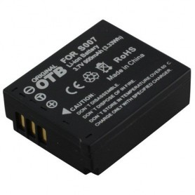 Battery for Panasonic CGA-S007 DMW-BCD10 900mAh