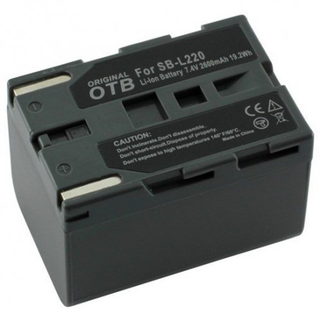 OTB, Battery for Panasonic Samsung SBL-SM160 ON1440, Panasonic photo-video batteries, ON1440