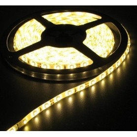Warm Wit Led Strip 60LED/M IP65 Wit PCB SMD3528