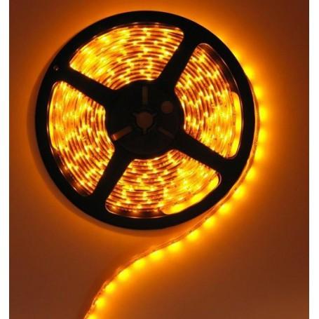 NedRo - Geel 12V IP65 SMD3528 LED Strip 60LED/M - LED Strips - AL039-CB www.NedRo.nl
