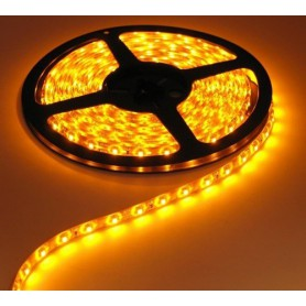 NedRo - Yellow 12V IP65 SMD3528 LED Strip 60LED/M - LED Strips - AL039-CB www.NedRo.us
